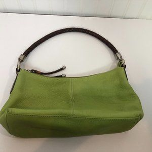 FOSSIL Small Bag Lime Green with Shorter Strap